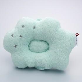 【今治産】白雲 (HACOON) タオルベビー枕 - セシール ■カラー:ブルー ピンク