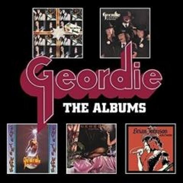 Geordie / Albums (5CD BOX)【CD】