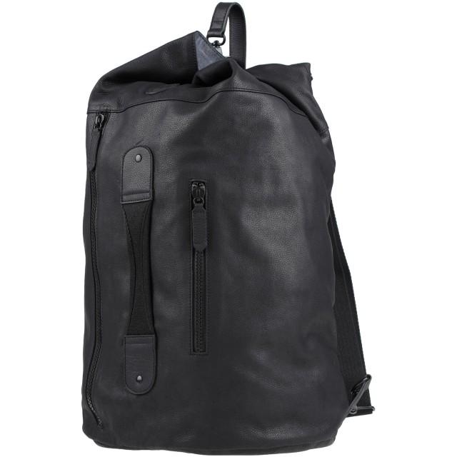 《セール開催中》TIMBERLAND メンズ バックパック&ヒップバッグ ブラック 革