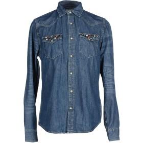 《送料無料》DENIM & SUPPLY RALPH LAUREN メンズ デニムシャツ ブルー M コットン 100%