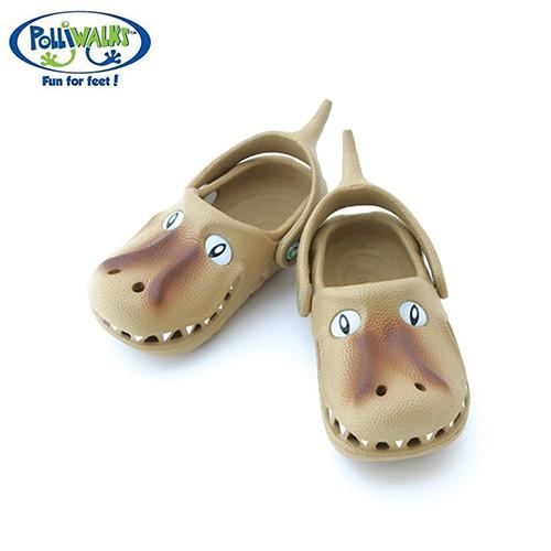 Polliwalks童鞋-霸王龍(銘黃)