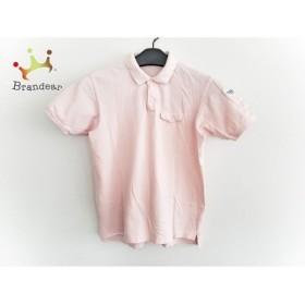 マドモアゼルノンノン Mademoiselle NON NON 半袖ポロシャツ レディース ピンク×白×マルチ 新着 20190709