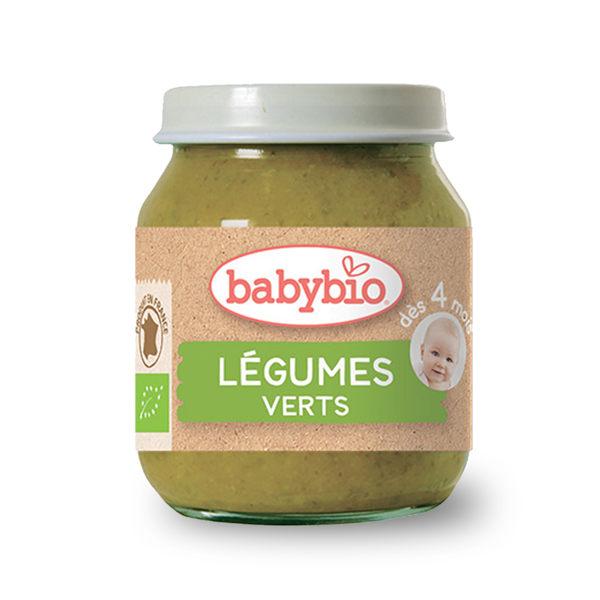 法國Babybio 有機碧綠蔬菜泥130g