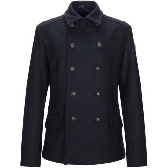 《9/20まで! 限定セール開催中》BRIAN DALES メンズ コート ブラック 52 ウール 80% / ポリエステル 20%