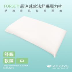 MUKAVA FORSETI 超涼感軟法舒眠彈力枕