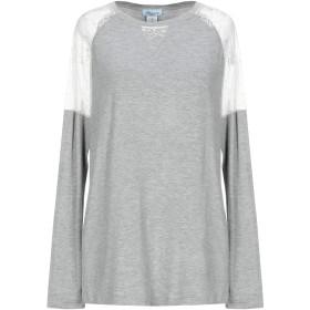 《期間限定 セール開催中》BLUMARINE UNDERWEAR レディース アンダーTシャツ グレー I レーヨン 95% / ポリウレタン 5%
