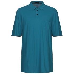 《期間限定 セール開催中》ROBERTO COLLINA メンズ ポロシャツ ディープジェード 54 コットン 100%