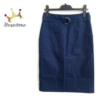トゥモローランド TOMORROWLAND スカート サイズ40 M レディース 美品 ブルー Ballsay 新着 20190709