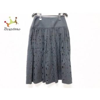 レキップ ヨシエイナバ L'EQUIPE YOSHIE INABA スカート サイズ7 S レディース 美品 黒 新着 20190709