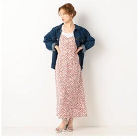 【archives:ワンピース】小花柄キャミワンピース