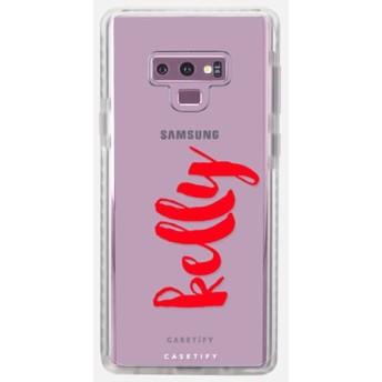 CASETiFY Galaxy Note 9 インパクトケース クリアケース シンプル iphone ケース 薄型 スマホケース 薄い スマホケ