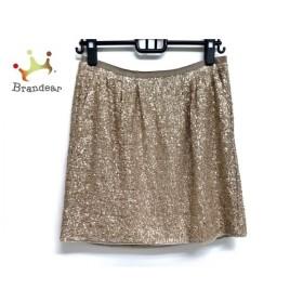 アドーア ADORE スカート サイズ36 S レディース 美品 ゴールド スパンコール 新着 20190709