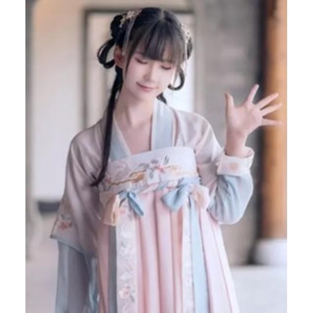 ウサギ 刺繍 袴!着物 浴衣 ドレス 和服 キャバドレス   コスプレ衣装   コスチューム   衣装 ハロウィン 仮装 袴 和風  巫女 和装