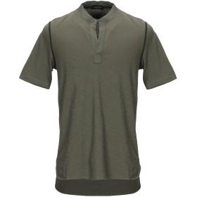 《セール開催中》ROBERTO COLLINA メンズ T シャツ ミリタリーグリーン 48 コットン 100%