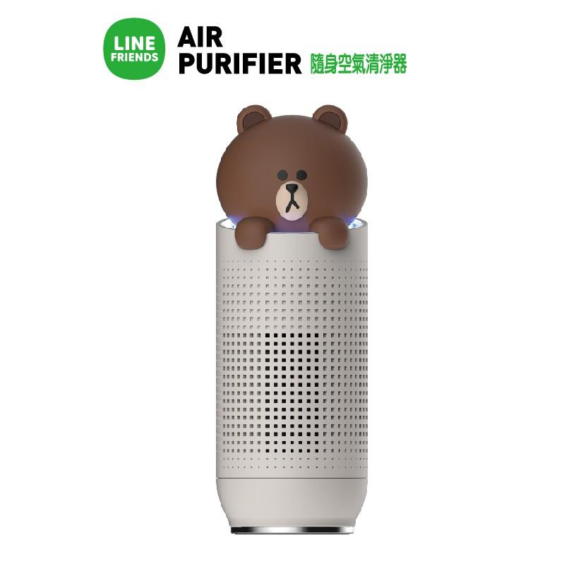 熊大隨身空氣清淨器型號:HB-LPBR1LINE最新款可愛爆表的空氣清淨器, 不僅清淨空氣, 還能淨化心情1. 高性能BLDC馬達2. 渦輪葉片3. 四層過濾系統4. USB連接5. 過濾網更換提醒6