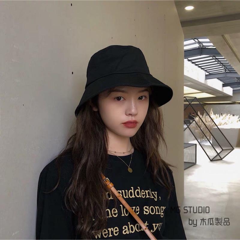 木瓜製品/【現貨】好品質 萬年款經典素色漁夫帽 大檐盆帽 男女款 八色