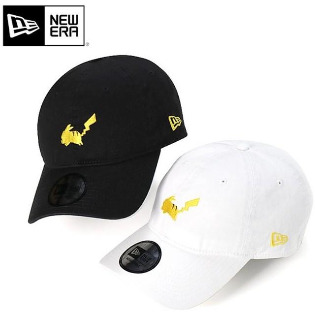 ニューエラ ポケモン コラボ キャップ 帽子 サイズ調整 9THIRTY PIKACHU SILHOUETTE NEW ERA POKEMON メンズ