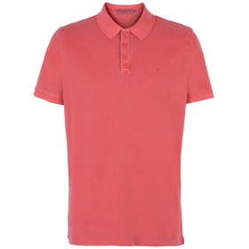 《送料無料》CALVIN KLEIN JEANS メンズ ポロシャツ レンガ XS コットン 100%