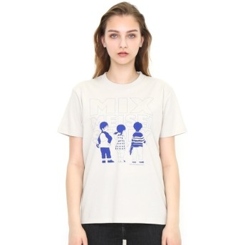 [マルイ]【セール】【ユニセックス】コラボレーションTシャツ/ミックスメイセイストーリー(アニメMIX)/グラニフ(graniph)