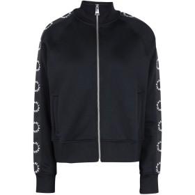 《期間限定 セール開催中》KARL LAGERFELD レディース スウェットシャツ ブラック XS ナイロン 56% / コットン 40% / ポリウレタン 4%