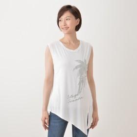 裾アレンジTシャツ