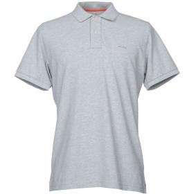 《期間限定 セール開催中》PARAJUMPERS メンズ ポロシャツ ライトグレー S コットン 100%