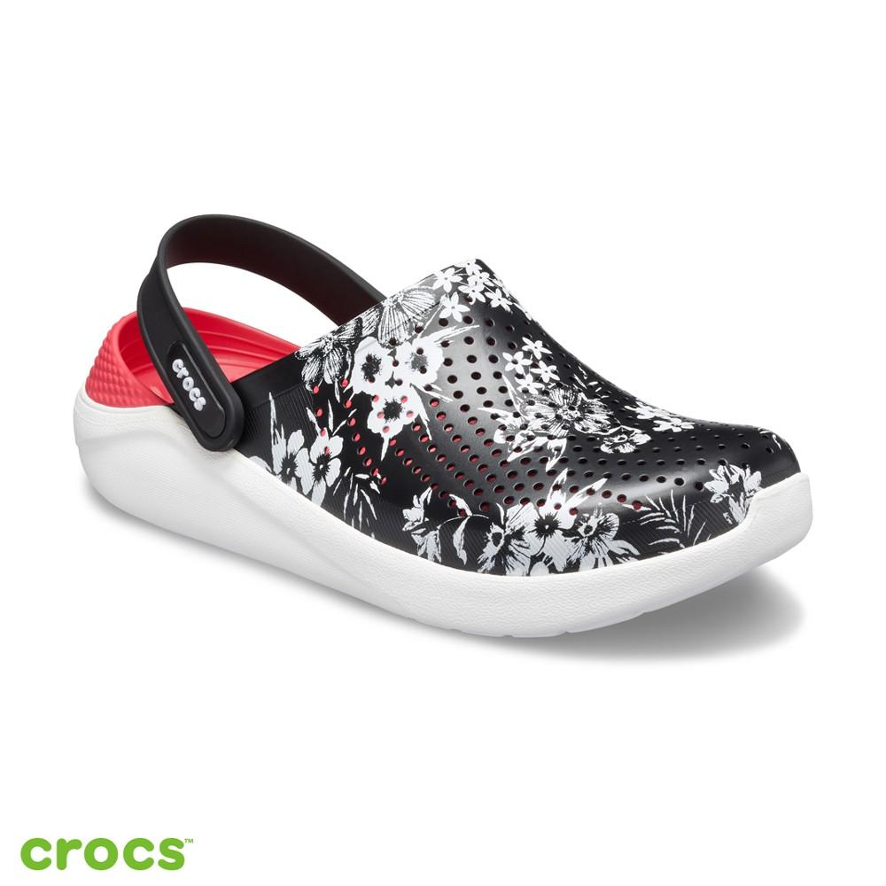 Crocs卡駱馳 (中性鞋) LiteRide古典印花克駱格-205848-97J