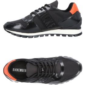 《期間限定 セール開催中》BIKKEMBERGS メンズ スニーカー&テニスシューズ(ローカット) ブラック 40 革 / 紡績繊維