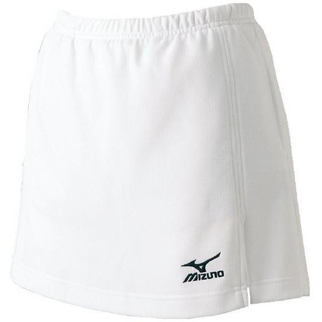 MIZUNO SHOP [ミズノ公式オンラインショップ] スカート(インナー、ポケット付/ラケットスポーツ)[レディース] 01 ホワイト A75RL100
