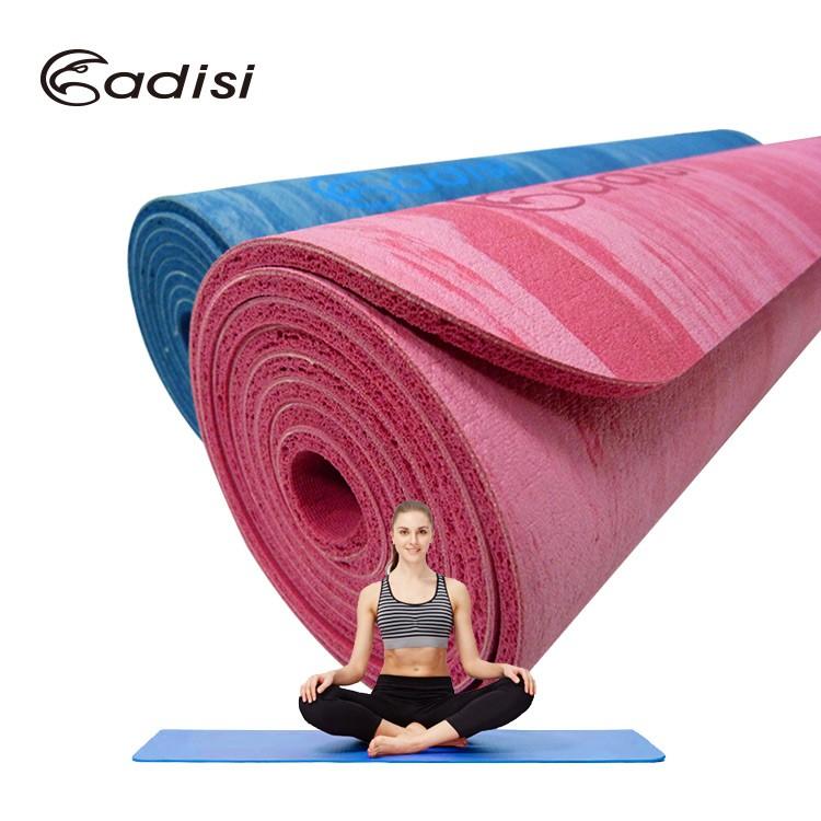 ADISI 專業天然橡膠迷彩瑜珈墊 AS16156