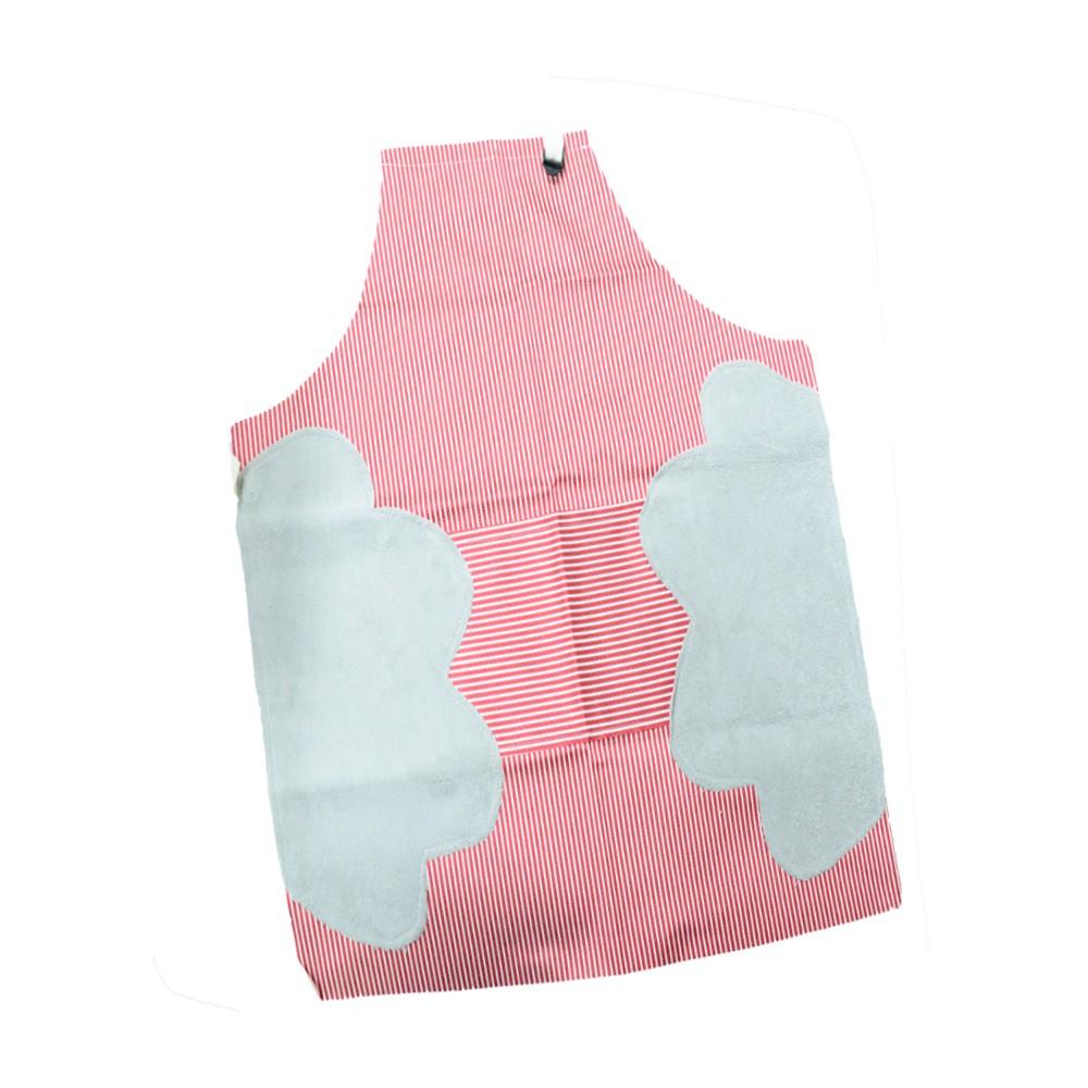 [超殺特價] 日式居家防水圍裙 一件 BK批發小舖 貼心大口袋以及側邊擦手巾
