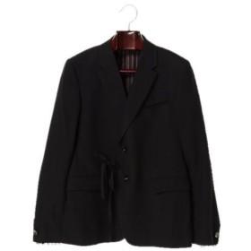 【Maison MIHARA YASHURO】ribon jacket/BLACK メンズウェア コート・ジャケット - 選択してください - BLACK 44 46 au WALLET Market