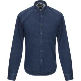 《期間限定セール開催中!》SCOTCH & SODA メンズ デニムシャツ ブルー S コットン 100%