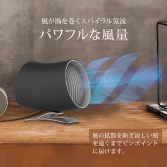 卓上扇風機 静音 パワフル 2重羽 USB 電源 風量調整 2段階 タッチ操作 扇風機 USB扇風機 卓上型
