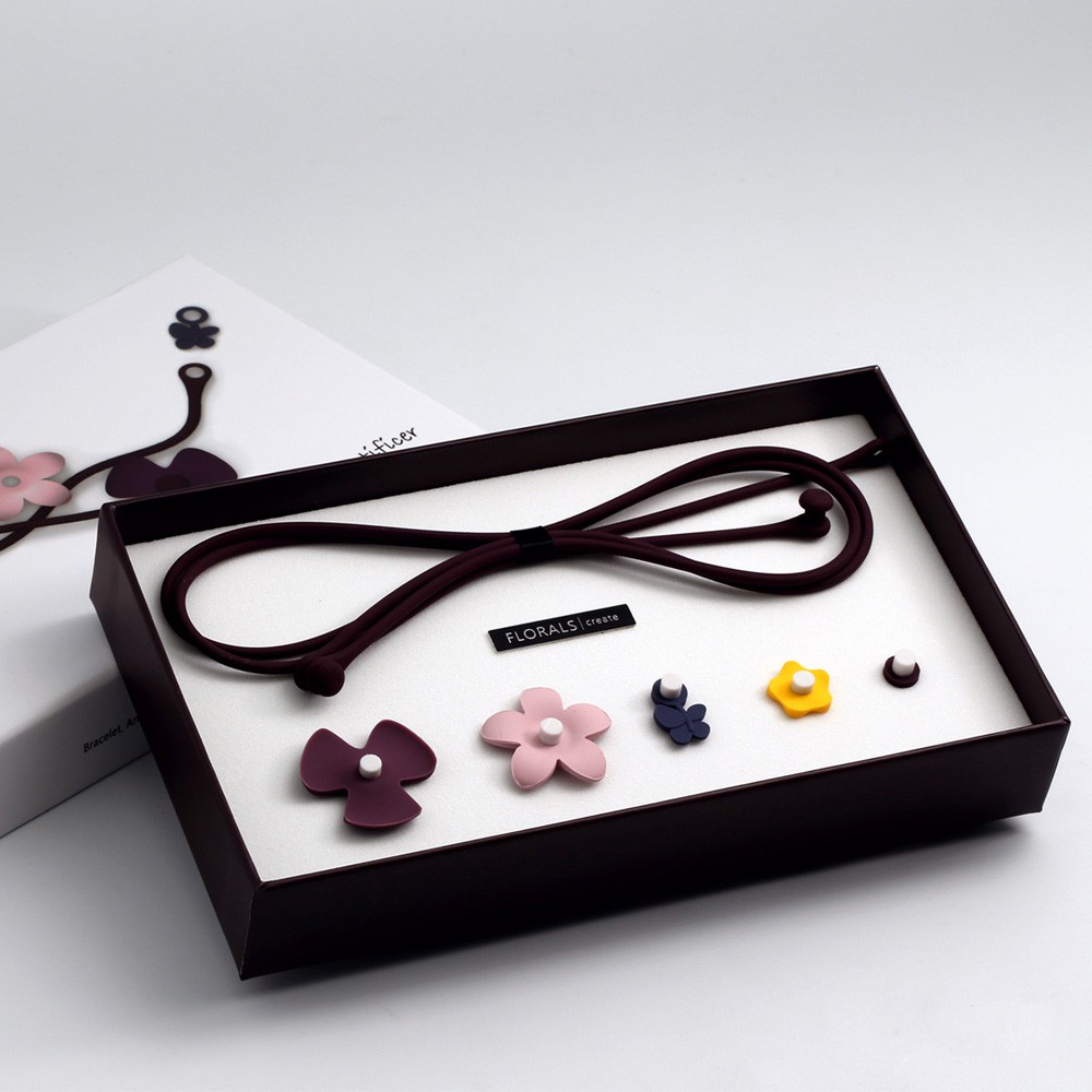 【Artificer】FLORALS 創意飾品-紫色(夢幻系列)