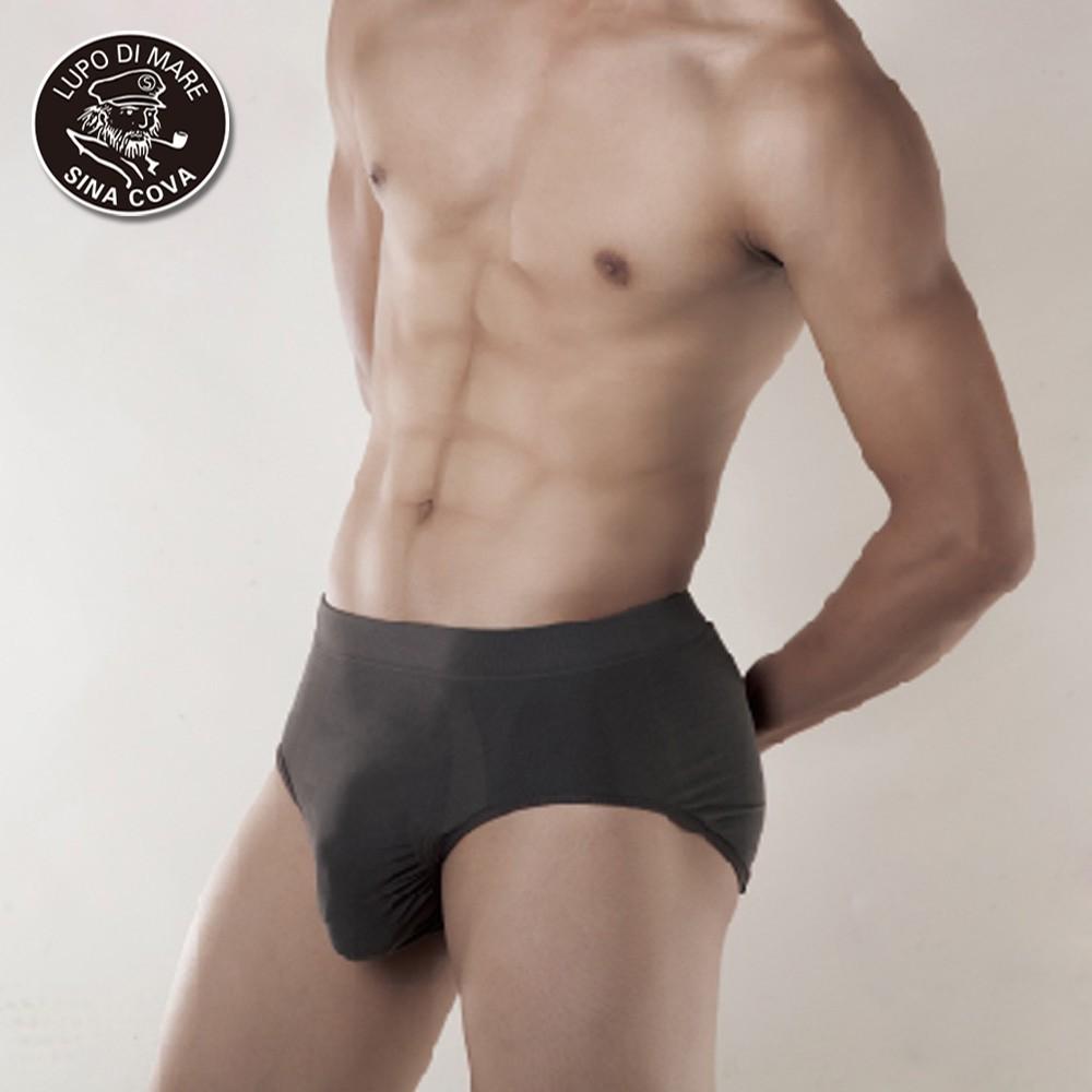 【老船長】台灣製全竹炭無縫三角內褲-1件入