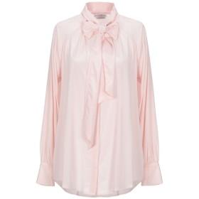 《セール開催中》BALLANTYNE レディース シャツ ピンク 44 シルク 93% / ポリウレタン 7%