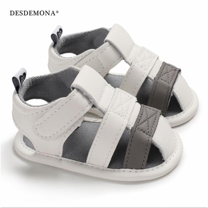 童鞋嬰幼童寶寶鞋 夏季0-1歲男寶寶包腳涼鞋軟底嬰兒學步鞋