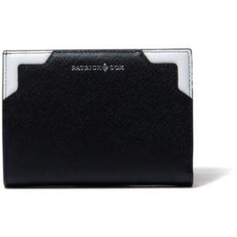 PATRICK COX バイカラーエンボス 小銭入れつき折り財布(中)