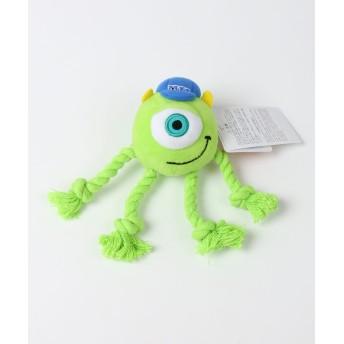 【オンワード】 PET PARADISE(ペットパラダイス) ディズニー MU 犬用おもちゃ マイクぷらりトイ 黄緑 0