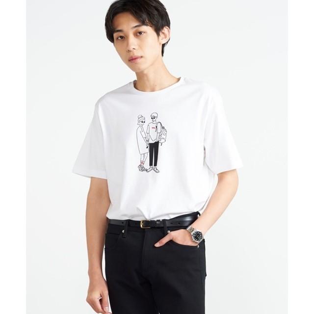 [マルイ]【セール】ヒューマンTシャツ/ウィゴー(メンズ)(WEGO)