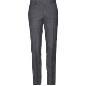 《期間限定 セール開催中》LARDINI メンズ パンツ ダークブラウン 50 ウール 99% / ポリウレタン 1%
