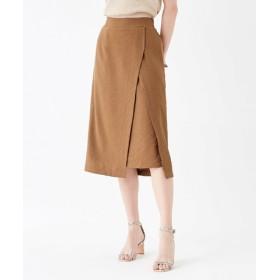 フェイクラップデザインスカート