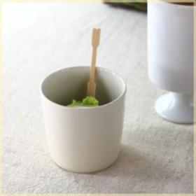 アイボリーのフリーカップ  どんな時でも使い勝手いろいろ マルチカップ コップ ナチュラル クリーム アイスカップ 食器 国産 美濃焼 訳