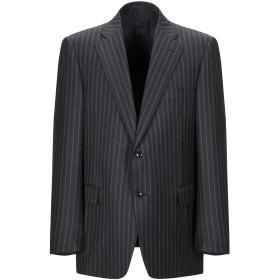 《期間限定セール開催中!》ETHOMAS メンズ テーラードジャケット ブラック 56 スーパー130 ウール 100%