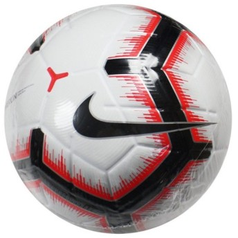 MERLIN ホワイト×ブライトクリムゾン 【NIKE|ナイキ】サッカーボール5号球sc3303-100-5