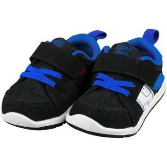 [12.5~14.5cm]シンプルフリー 履きやすいシューズ ブラック シューズ・ファッション小物 ベビーシューズ(~14.5cm) (69)