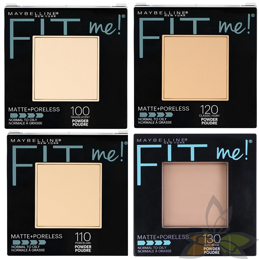 媚比琳 Maybelline Fit Me 反孔特霧蜜粉餅 8.5g 原廠正品【百奧田 美妝保養】