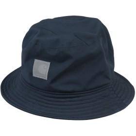 《期間限定 セール開催中》CARHARTT メンズ 帽子 ダークブルー S/M ポリエステル 97% / ポリウレタン 3%