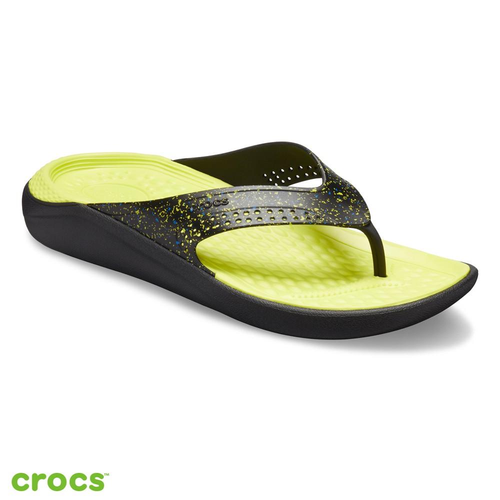 Crocs卡駱馳 (中性鞋) LiteRide星空系列人字拖-205940-060